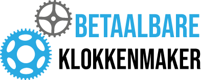 Betaalbare klokkenmaker Logo